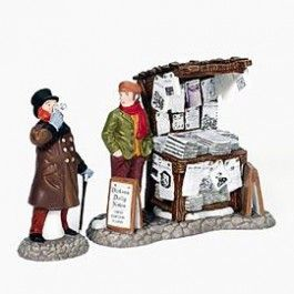 Department 56 - Dickens' Village - London Newspaper Stand | Department 56 Villages, Free Shipping on Dept 56