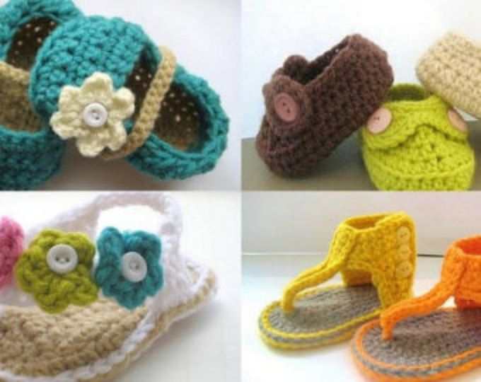 Crochet patterns baby booties crochet booties pattern shoes boys ...