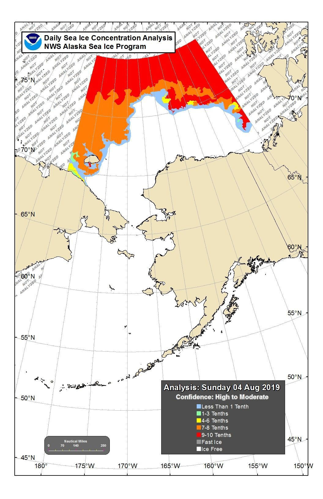 Alaska's sea ice has completely melted away Sea ice