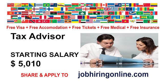 Tax Advisor Tax Advisor Advisor Merchandising Business