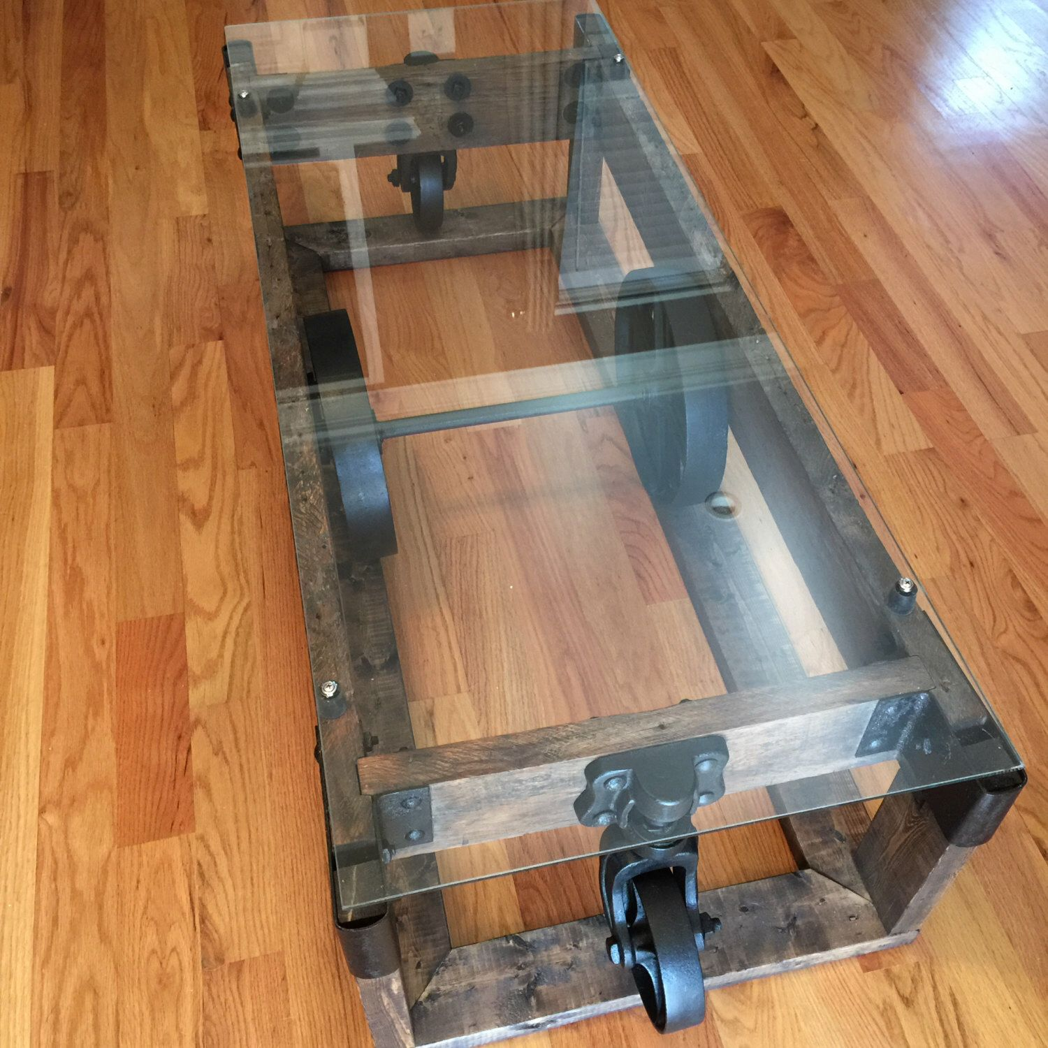 Items Similar To Lineberry Cart Coffee Table On Etsy