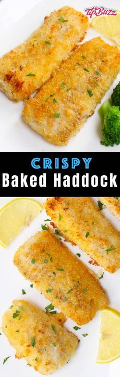 Crispy Baked Haddock with mild flavor and ready in just 15 minutes for a healthy dinner option that's easy to make! #hurricanefoodideas
