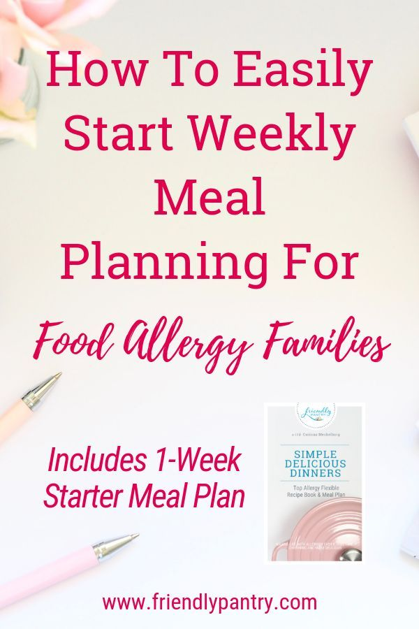 How to Eliminate the Overwhelm of Severe Food Allergies with Simple Meal Plans images