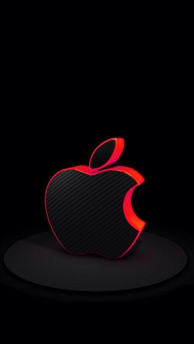 Apple Special Event Logo True Black Apple Logo Wallpaper Iphone Apple Wallpaper Apple Wallpaper Iphone