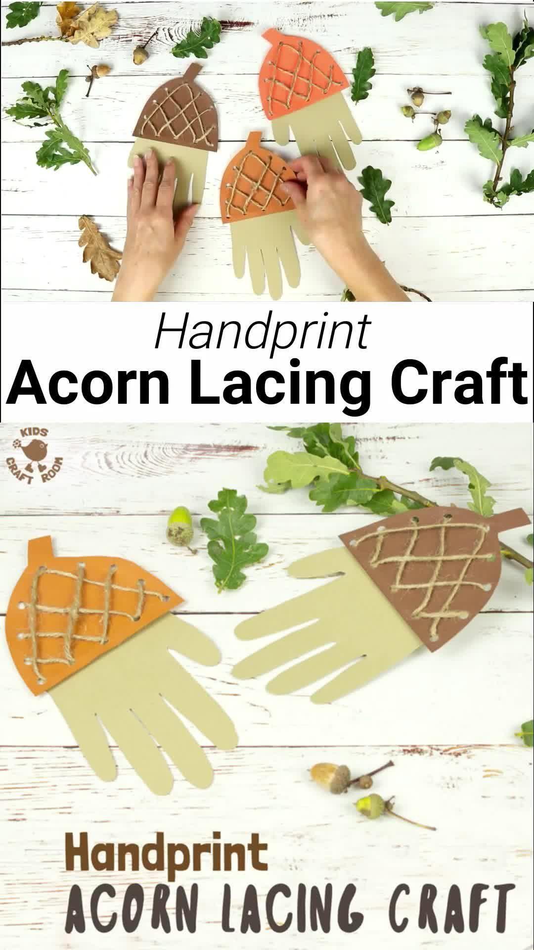 Photo of Acorn Lacing Craft
