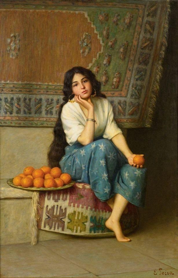 The Orange Seller
