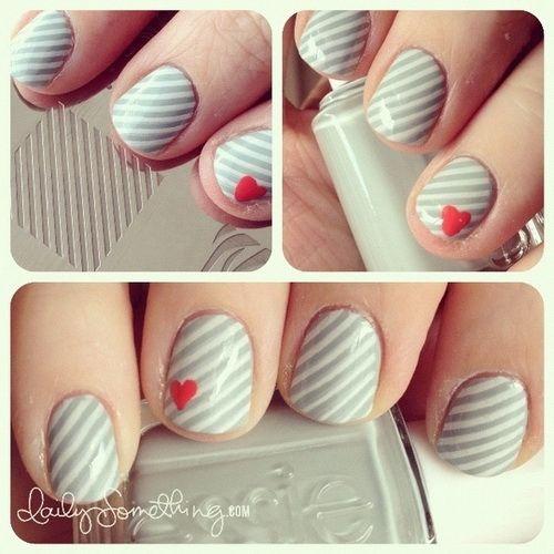 Cute Diy Nail Art Designs Diy Nails Pinterest Hot Nails And
