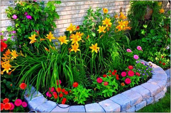 Small Flower Garden Ideas On A Budget