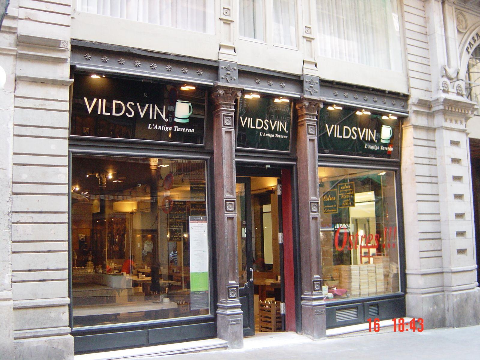 Rotulo en vidrio en barcelona