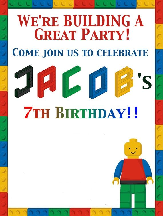 How To Have A LEGO Birthday Party For Under $100  Lego  ~ 011707_Birthday Party Ideas Under $100