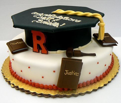 cake ideas for law school graduation - Google Search | Double ...