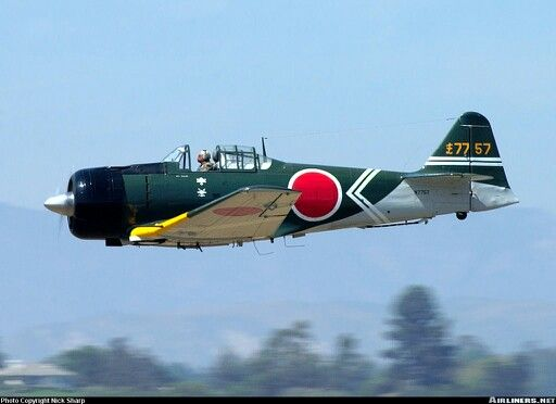 CCF Harvard MK4 remade into a Zero. Used in the movie Tora Tora Tora