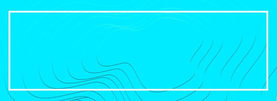 بلون سماوي الحدود بسيطة Background Banner Neon Signs Banner