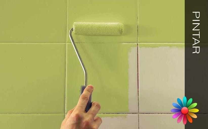 Pintar as paredes revestidas a azulejos a forma mais - Pintar juntas azulejos ...