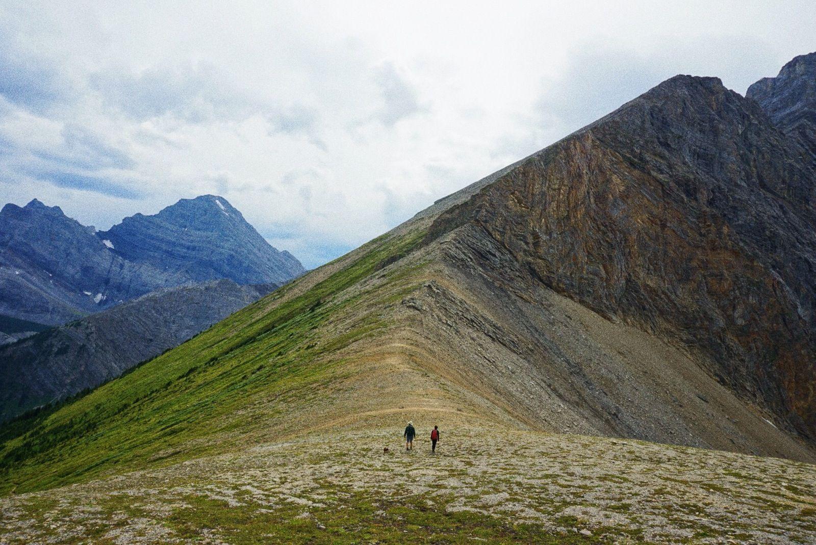 Guinn's Pass in Kananaskis Country, Alberta, Canada.