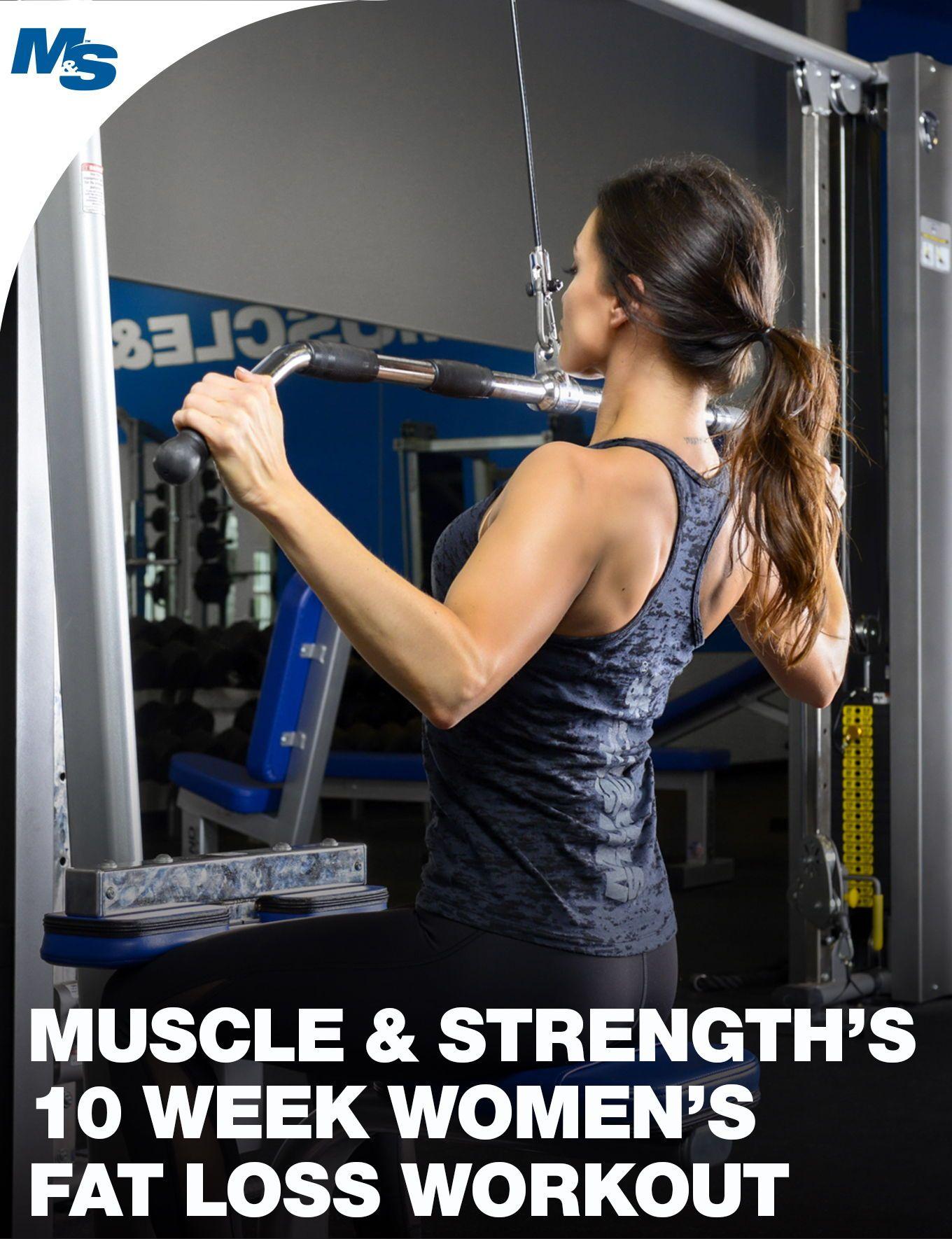 10 Week Women S Fat Loss Workout Training Tips Weight Loss