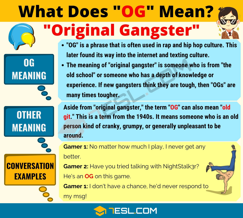 OG Meaning: What Does OG Mean? Interesting Text Conversations ...