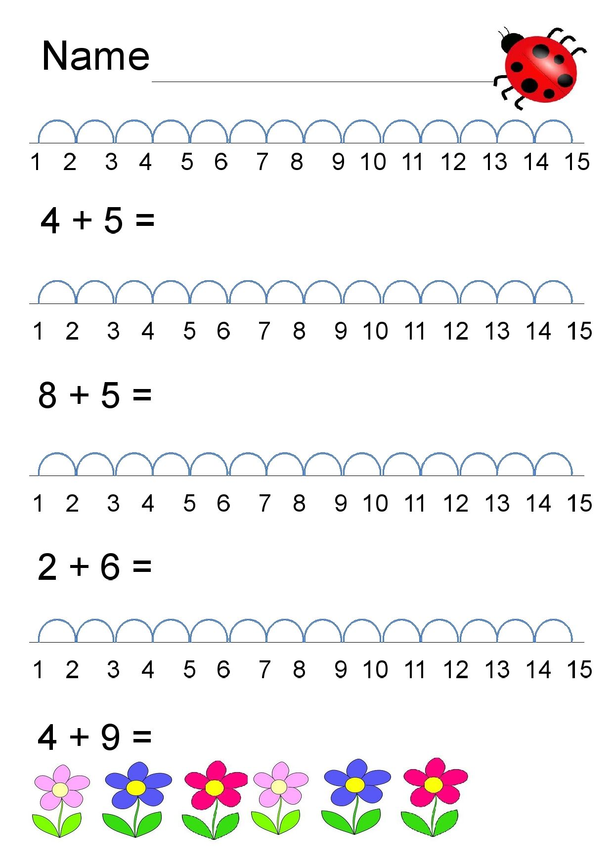 Maths Worksheets For Grade 1 Number Names