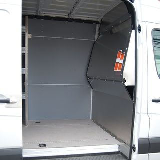 • Lightweight & durable aluminum • Contoured design gives maximum seat back travel & floor space http://www.commercialvanshelving.com/sprinter/partitions/sprinter-contoured-solid-partition/