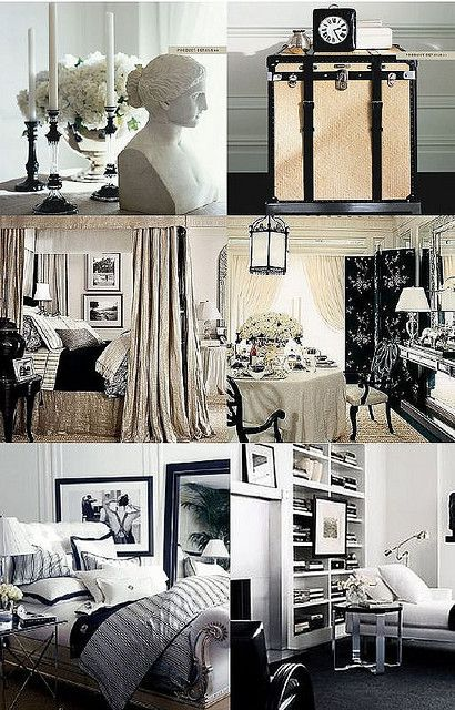 Ralph Lauren Home Black White Collection With Images Home