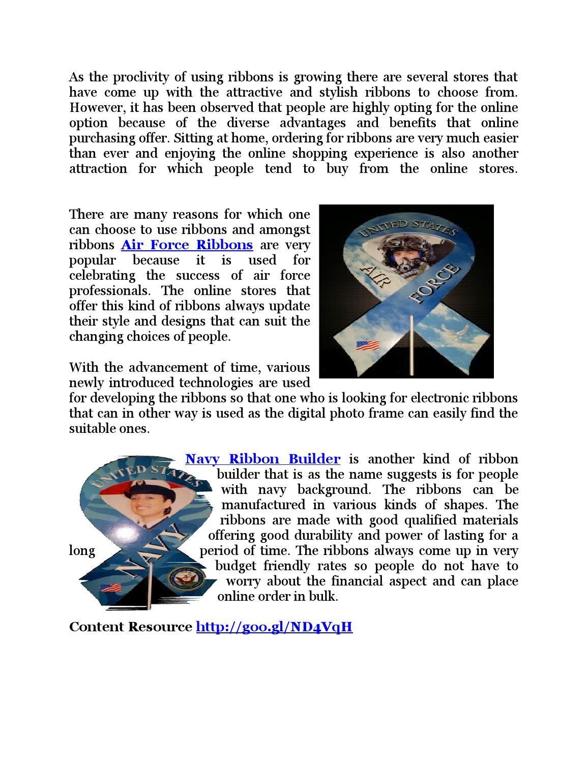 Air force navy ribbon builder Navy ribbon, Air force