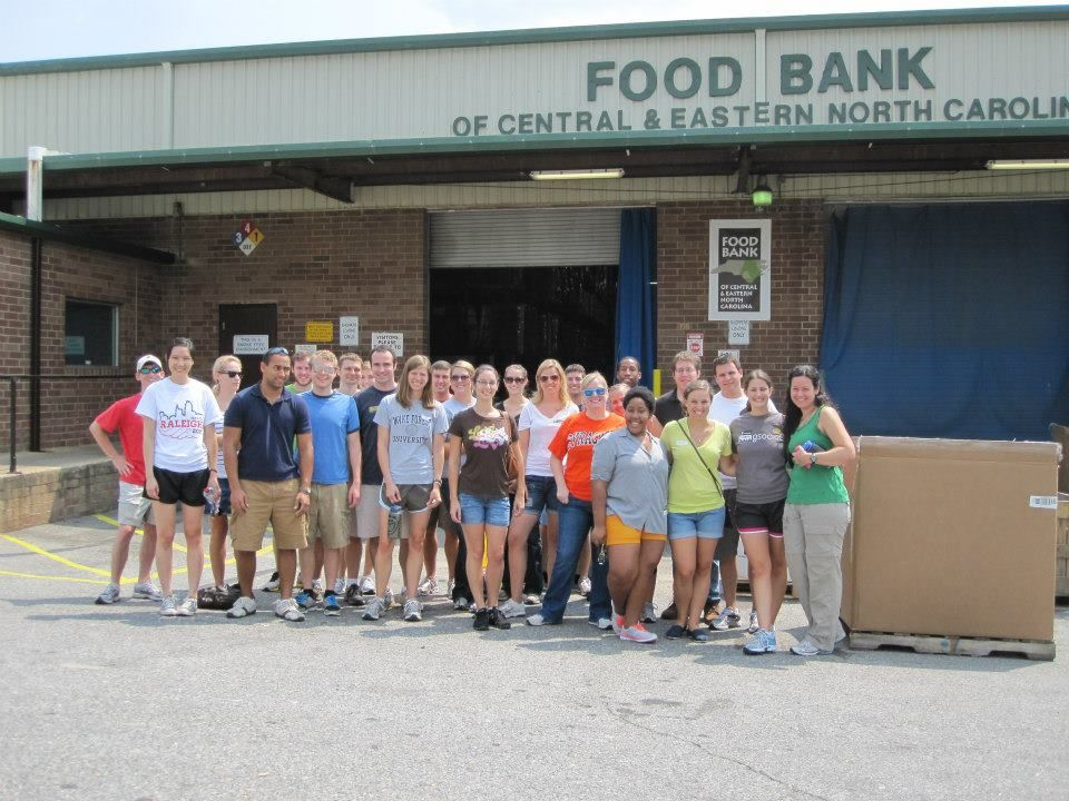 August 2012 event food bank of central eastern nc