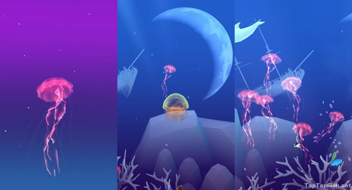 Tap Tap Fish Light Jellyfish Magnificent Pink Jellyfish  Abyssrium Tap Tap Fish  Fish  Pinterest Decorating Inspiration