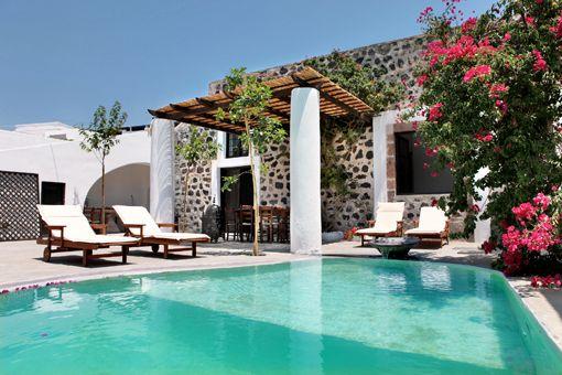 Modern Greek Homes modern greek house design. latest style villa in mykonos with