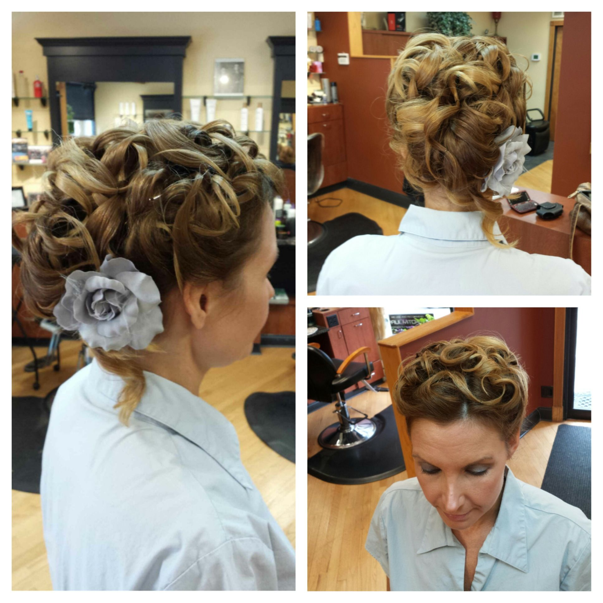 Mother of the bride hairstyles partial updo photos of the mother mother of the bride hairstyles partial updo pmusecretfo Images
