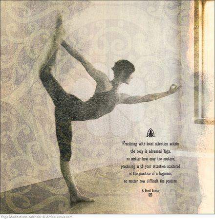 2015 yoga meditations calendar  amber lotus publishing