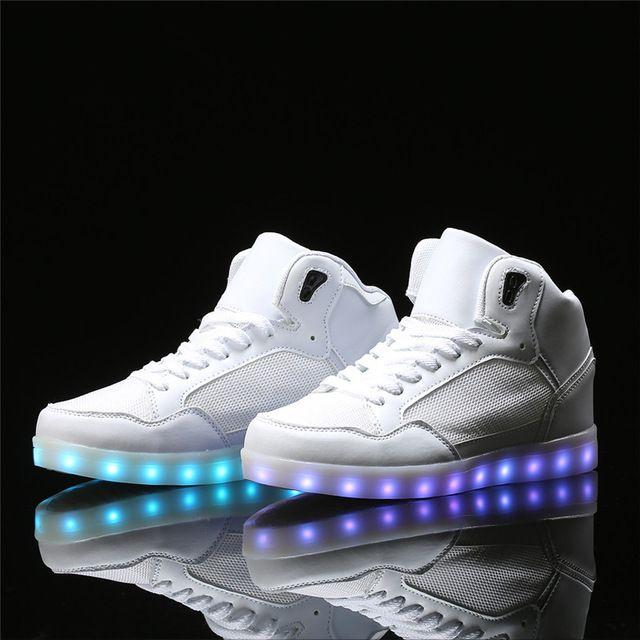 Fashion 8 Colors Men LED Shoes 2017