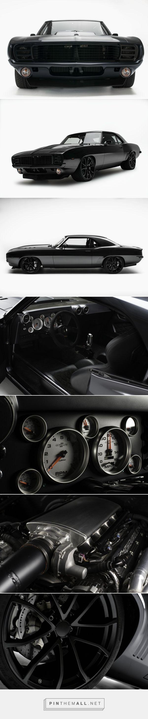 Blacked-Out 1969 Chevrolet Camaro  #blacked #camaro #chevrolet,    Source link #BlackedOut #Camaro #Chevrolet