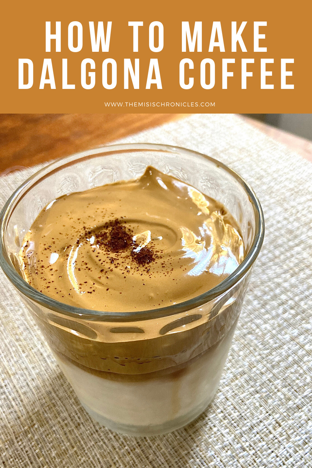 How to make Dalgona Coffee in 2020 Coffee recipes, Recipes
