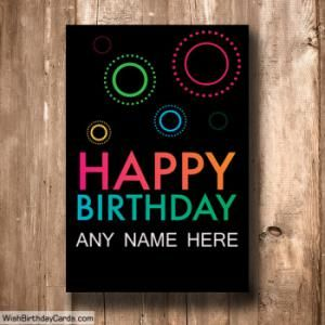 Simple Happy Birthday Cards Online With Name Birthday Card Online Happy Birthday Cards Online Birthday Cards For Brother