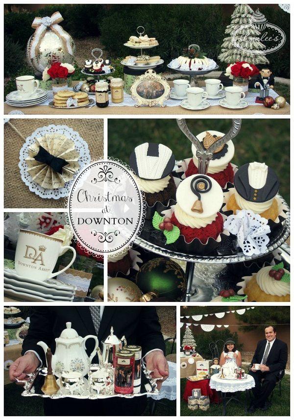 Christmas at Downton Garden Tea Party ....♥ ♥ ....~ Lynlee ...