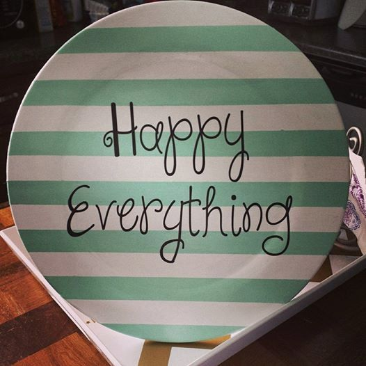 hand painted personalized wooden plate by ChasingLilly on Etsy