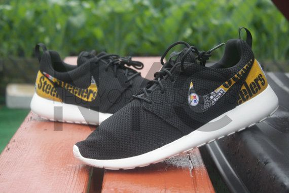 Pittsburgh Steelers Nike Roshe Run by NYCustoms on Etsy