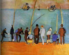Resultado de imagen para (Raoul,1877-1953) Pintor, artista gráfico y diseñador textil francés