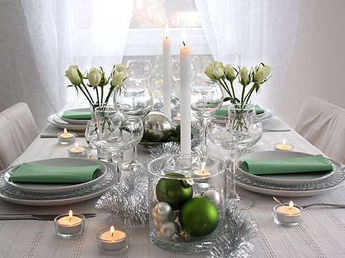 modern table decoration for christmas entertaining ideas. Black Bedroom Furniture Sets. Home Design Ideas