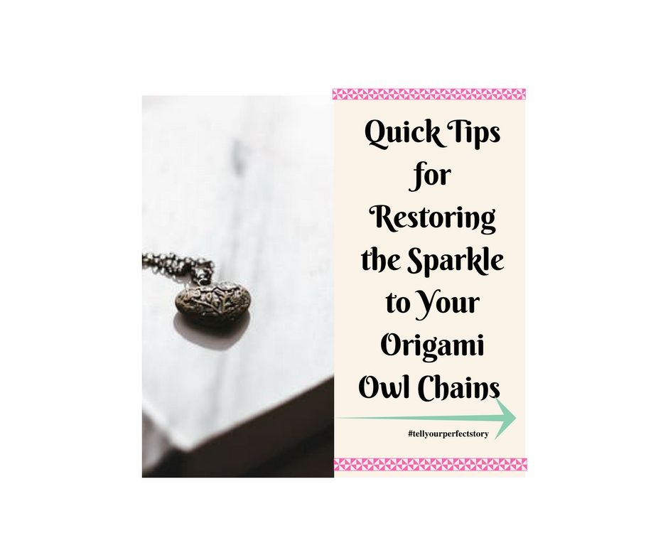 Photo of Restoring Sparkle to Your Origami Owl Chains: Some Quick Tips