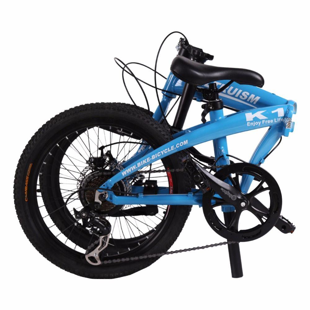 Altruism K1 20 Inch Folding Bike Aluminum Alloy Frame Mtb Mountain Bikes Folding Bicycle For Boys Girls Bi Mtb Bike Mountain Boys Mountain Bike Folding Bicycle