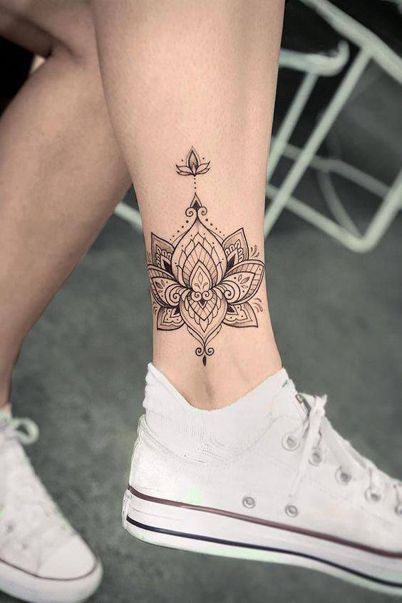 ankle tattoo 3