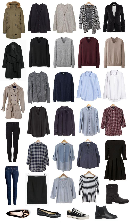 Minimalismus im kleiderschrank meine capsule wardrobe f r for Minimalistischer kleiderschrank