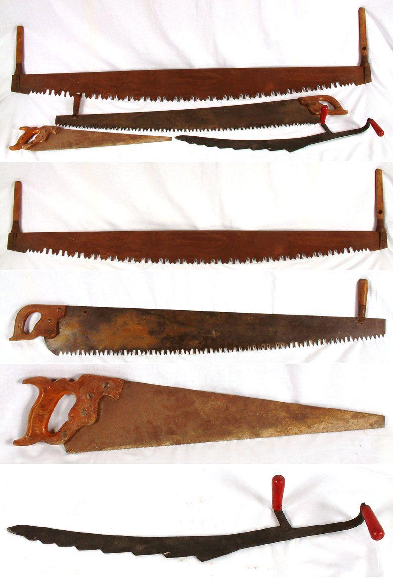 Antique Crosscut Saws For Sale