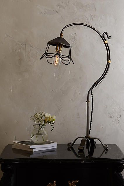Flowering Steel Table Lamp