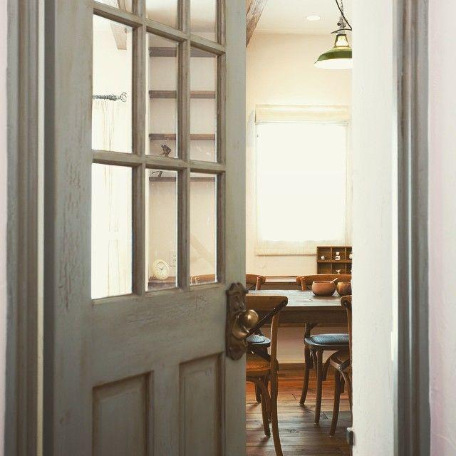 welcome to maman #mamanのお家#maman#かわいいお家#DIY#手作り#お家カフェ#お家ショップ#ソーイング#アンティーク#ヴィンテージ#フランス#懐かしい空間#塗り壁#ペンキ#デザインコンクリート