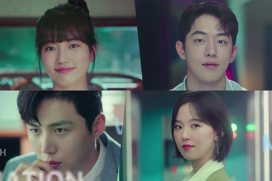 "Watch: Suzy, Nam Joo Hyuk, Kim Seon Ho, And Kang Han Na Are Sleek Professionals In 1st ""Start-Up"" Teaser"