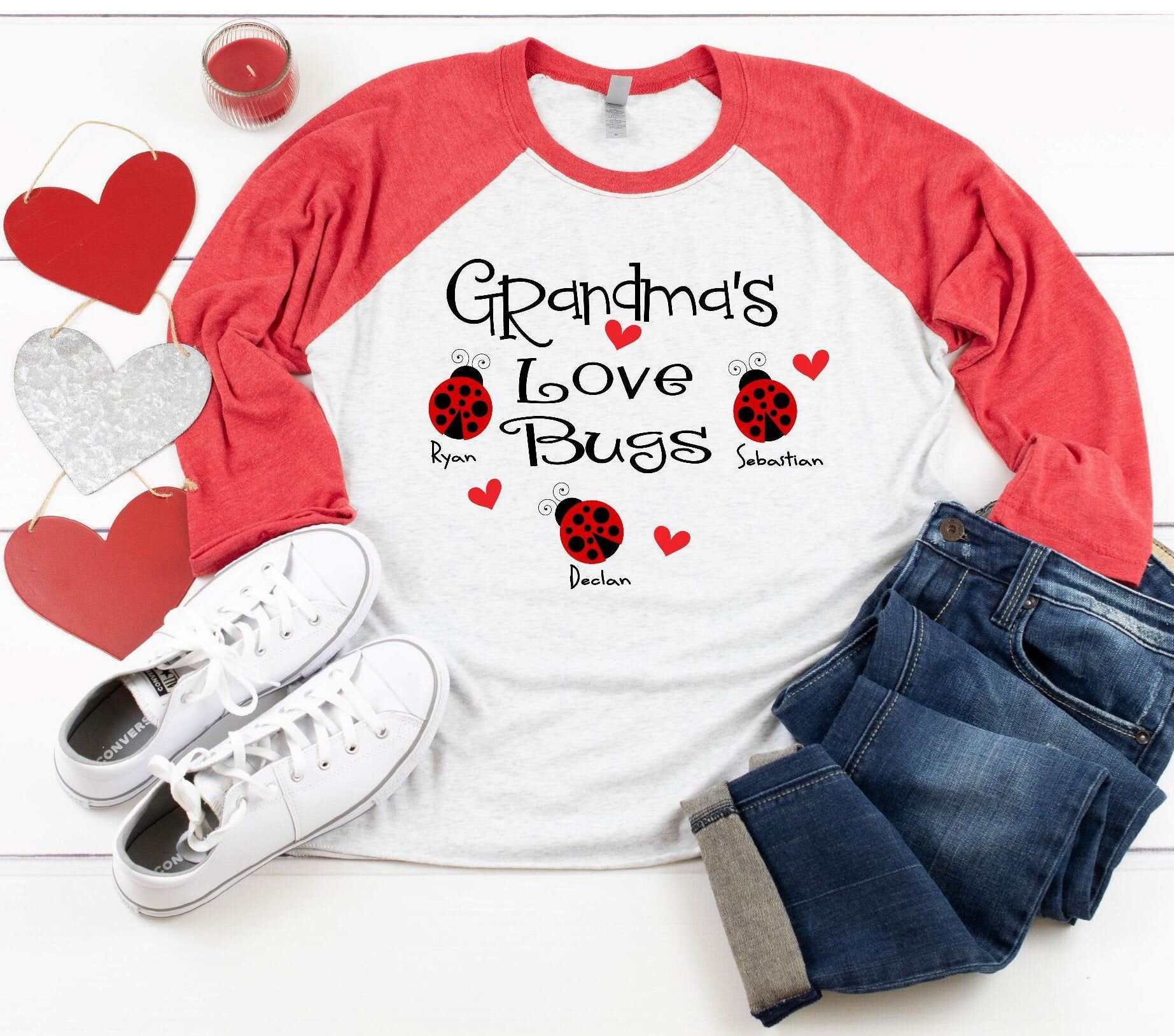 Download Grandma S Love Bugs Svg | Broken Curve