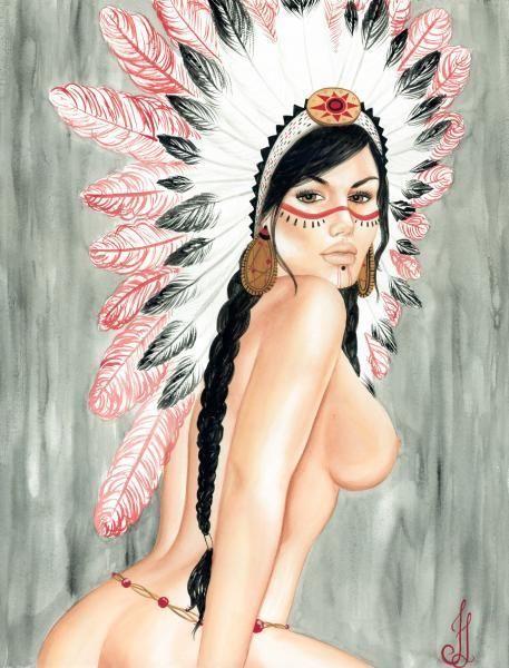 Girl xxx pocahontus naked