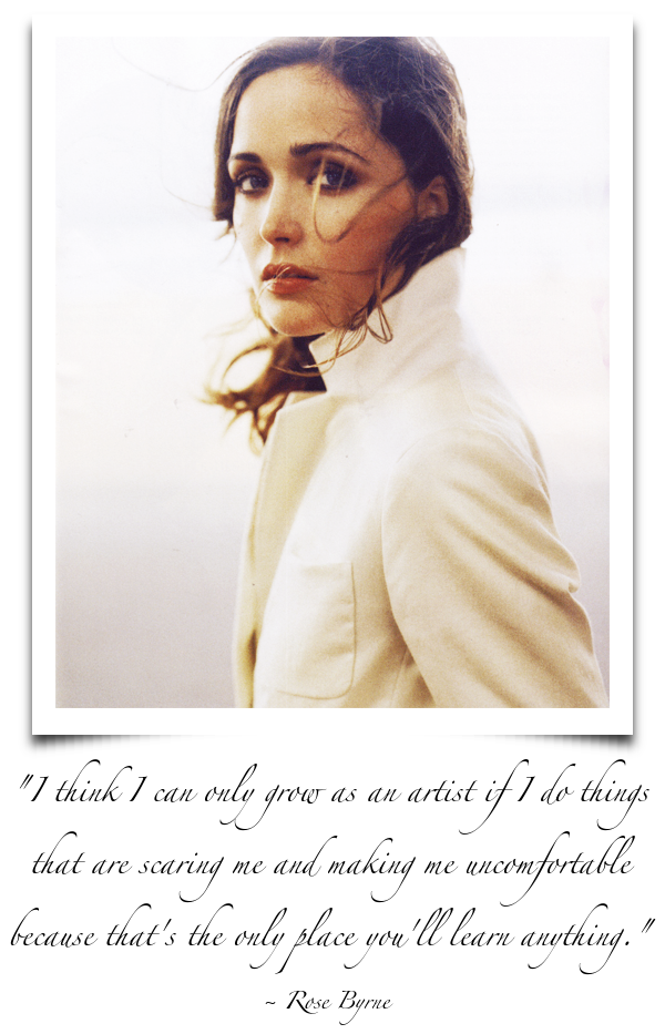 Rose Byrne Quote